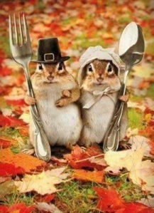 Happy Thanksgiving from my nutty family!