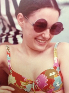 The wildest bathing suit I ever owned, c. 1971