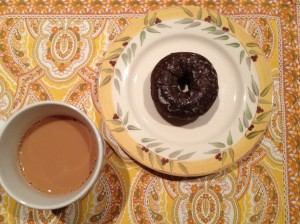 If you have to eat breakfast, eat donuts!
