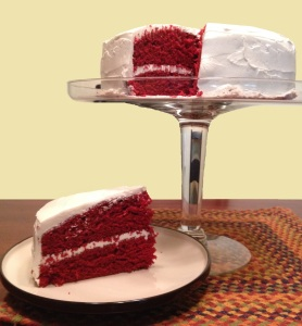 Red Velvet Cake with Buttercream Frosting
