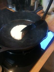 Pancakes edge