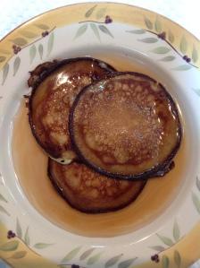 Pancakes finished