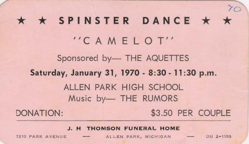 Spinster ticket (2)